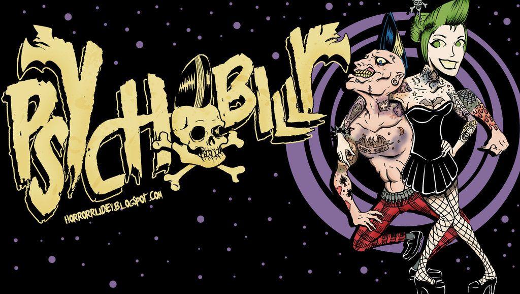 Psychobilly wallpaper by HorrorRudey Rockabilly 1024x578