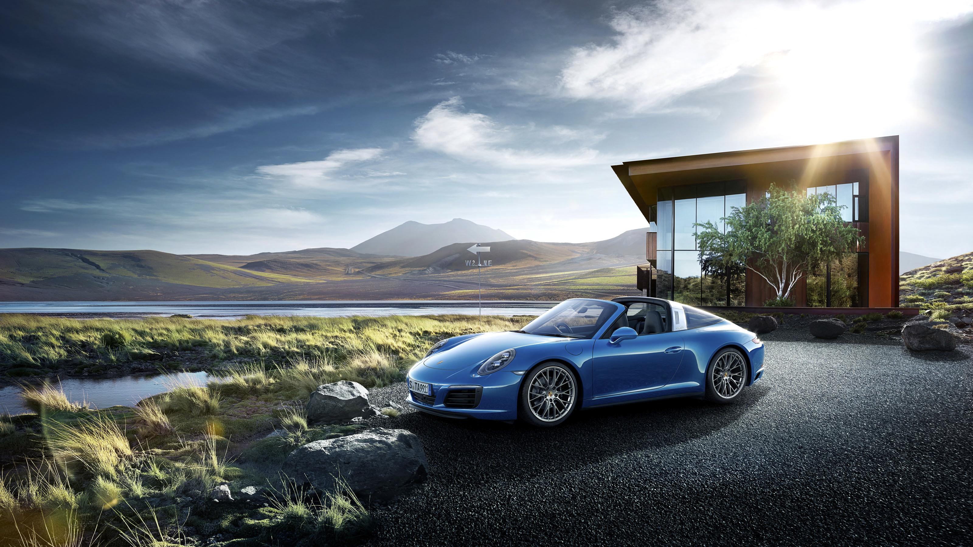 Porsche 911 Targa HD Wallpaper Background Image 3200x1800 ID 3200x1800