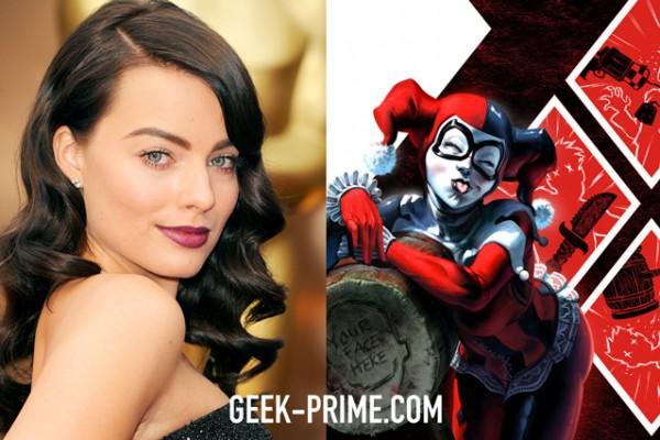 Margot Robbie Play Harley Quinn   Geek Prime 600x400