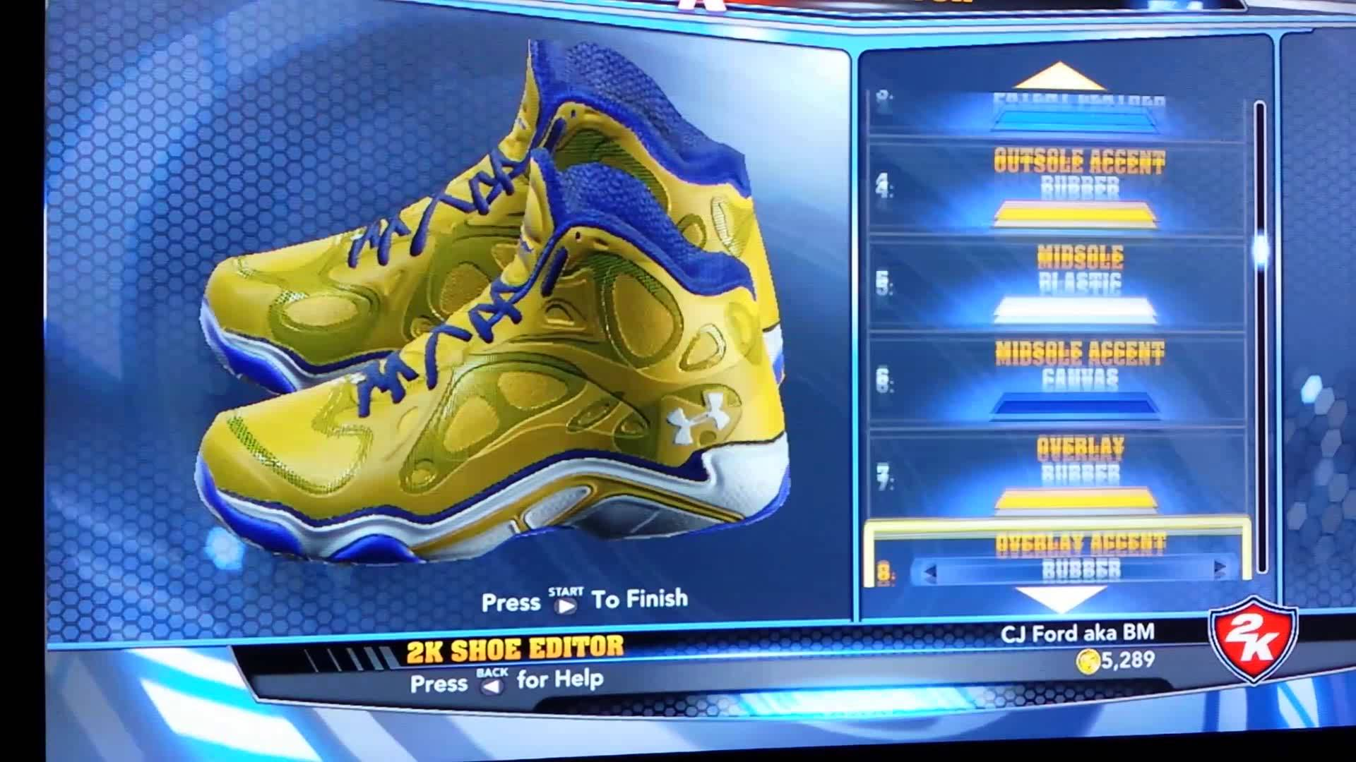 cad7d3735c1 UnderArmour Anatomix Stephen Curry PE for NBA 2K14 1920x1080