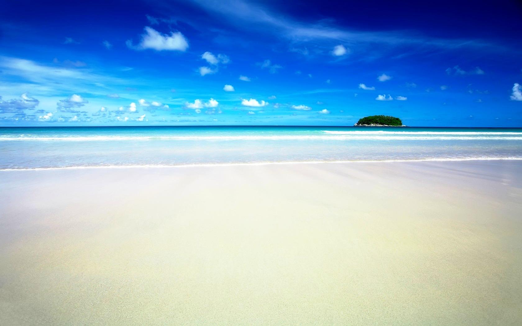 Up Your Working Space Desktop Wallpaper Beach Scenes Nice Beach 1680x1050