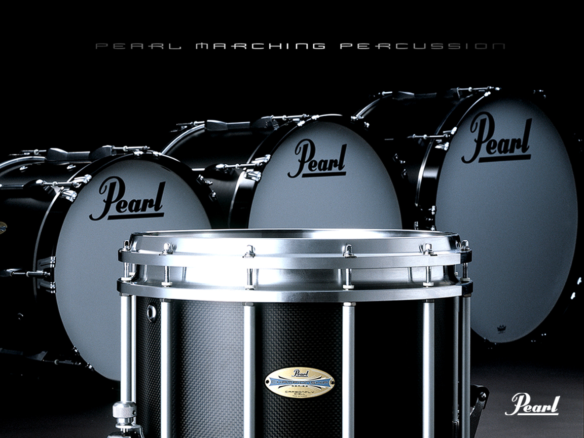 Desktop Wallpapers Pearl Drums 1152x864