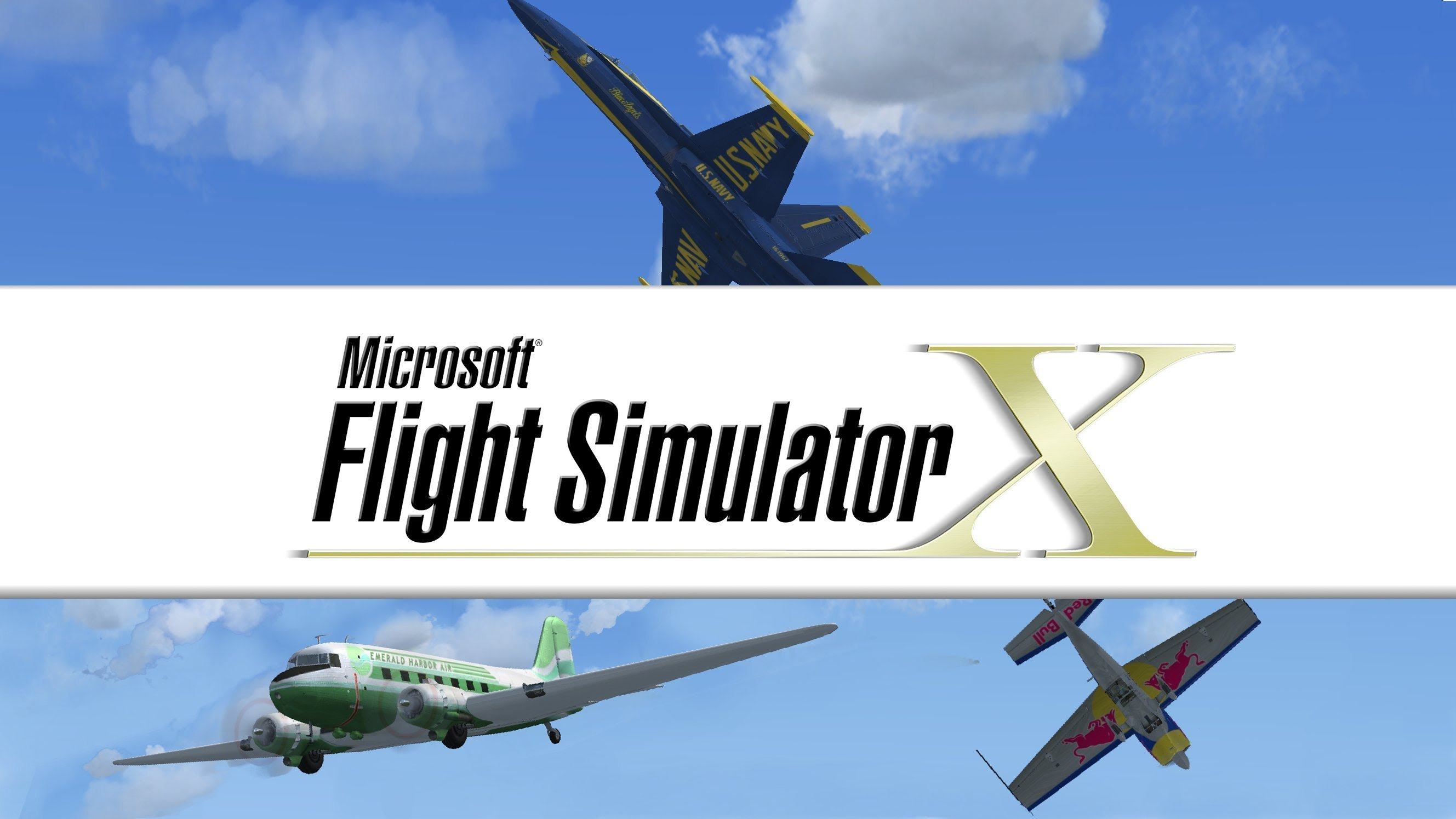 Microsoft Flight Simulator X Landing on Steam Next Week GotGame 2657x1495
