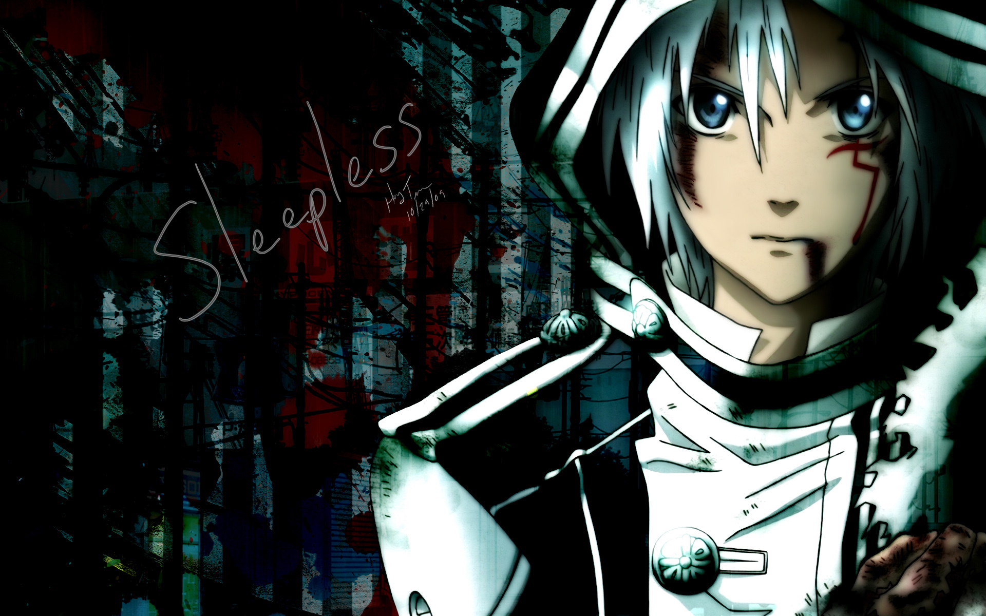 Dgray man   The lazy me 1920x1200