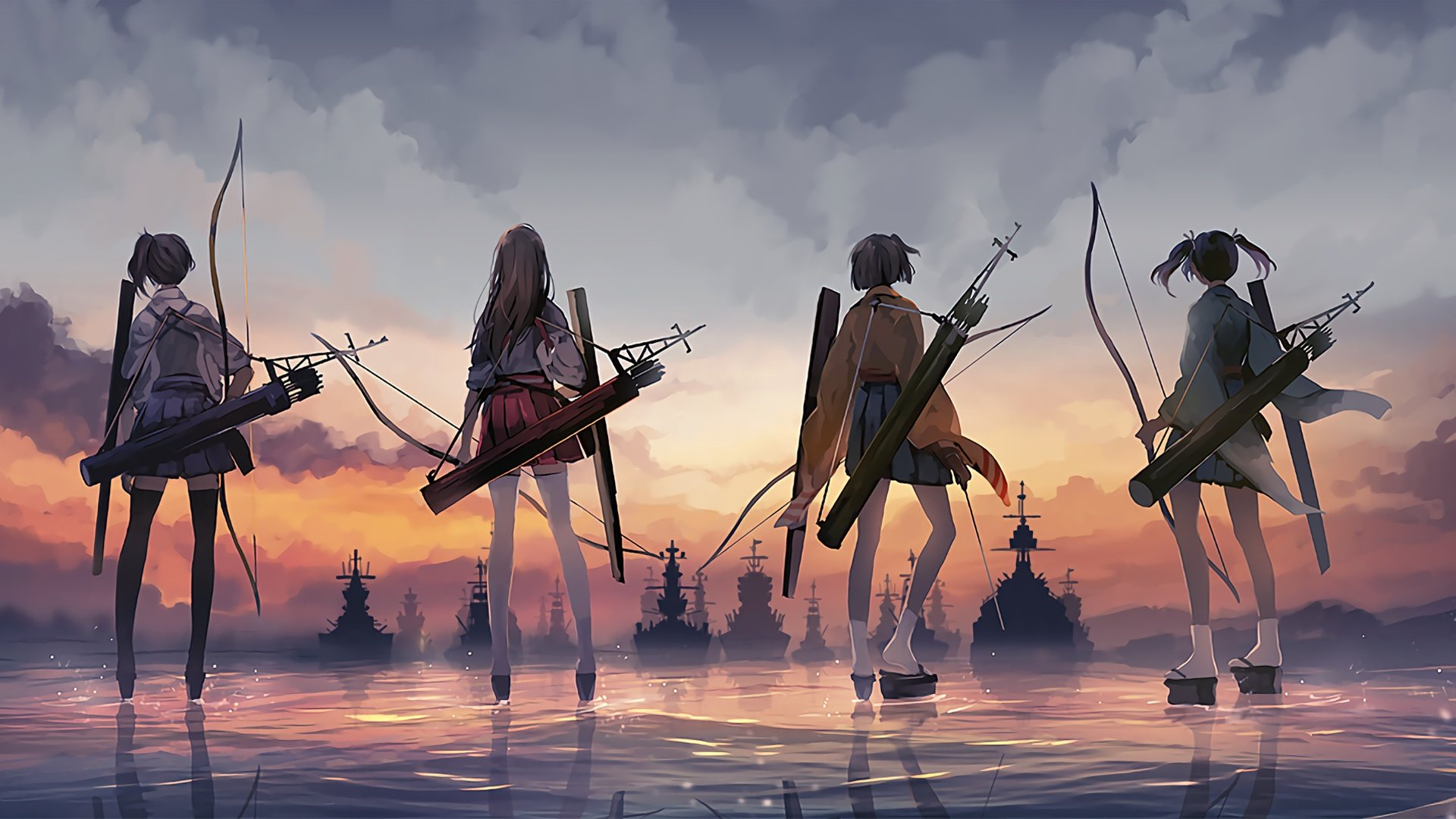 Awesome Kantai Collection wallpaper ID330857 for hd 1920x1080