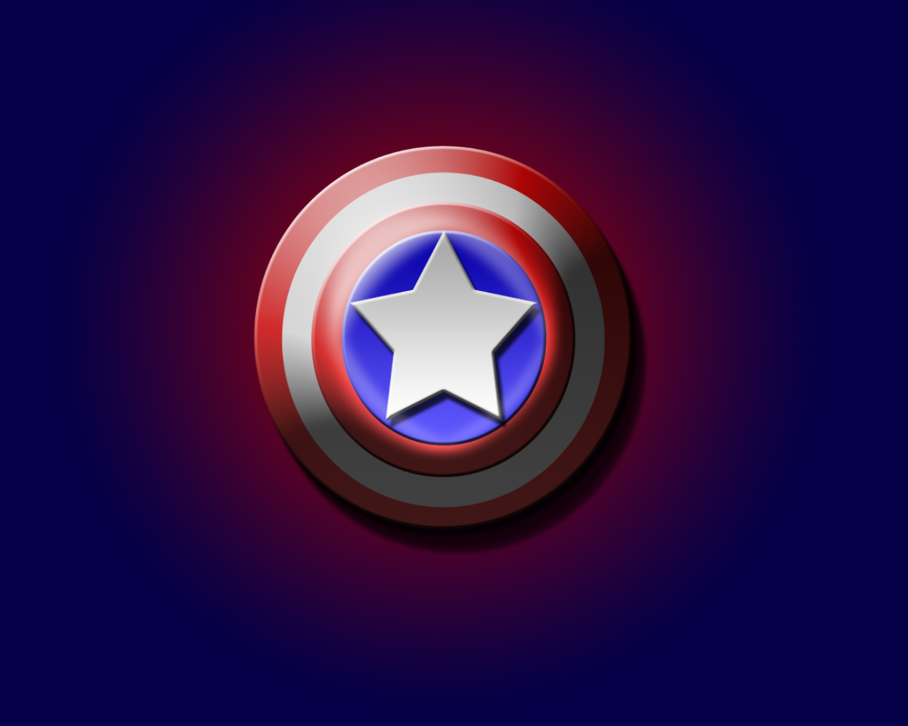 Captain America Logo Wallpaper   Comic Imagescom 1280x1024