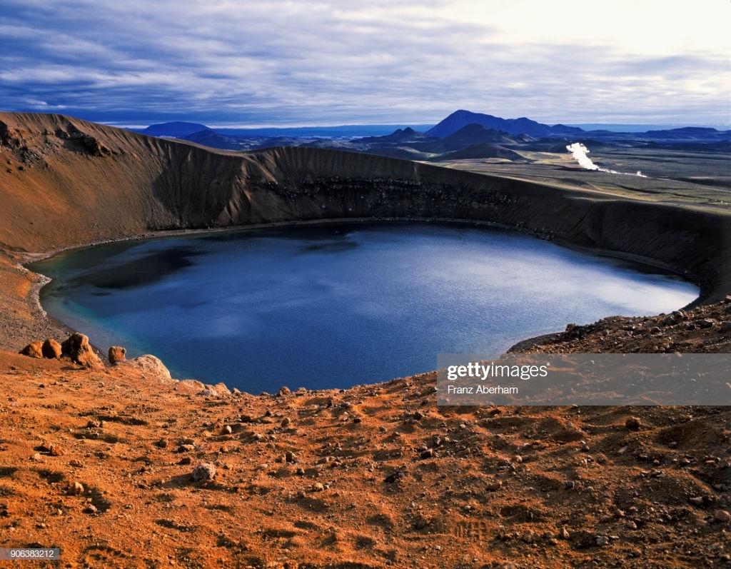 Krafla Caldera Viti Crater Lake Geothermal Power Plant In 1024x797