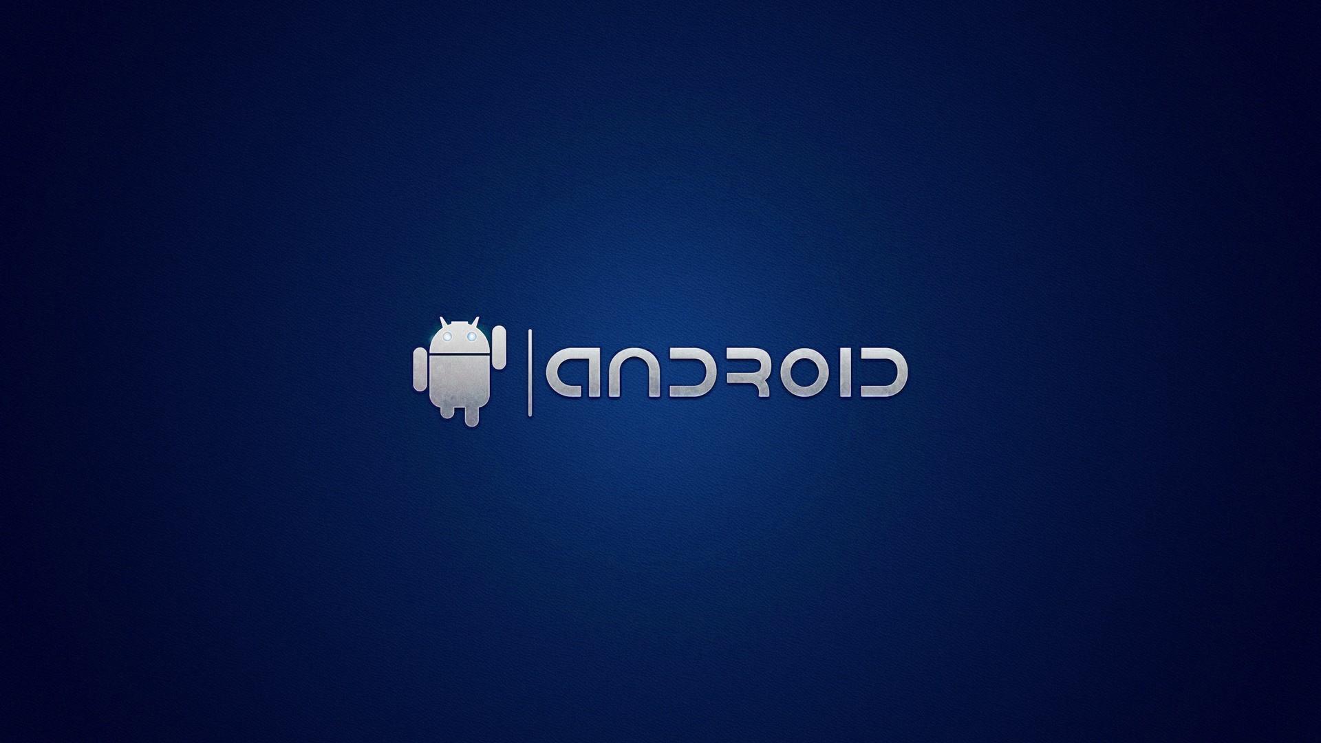 Blue android wallpaper 12320 PC en 1920x1080