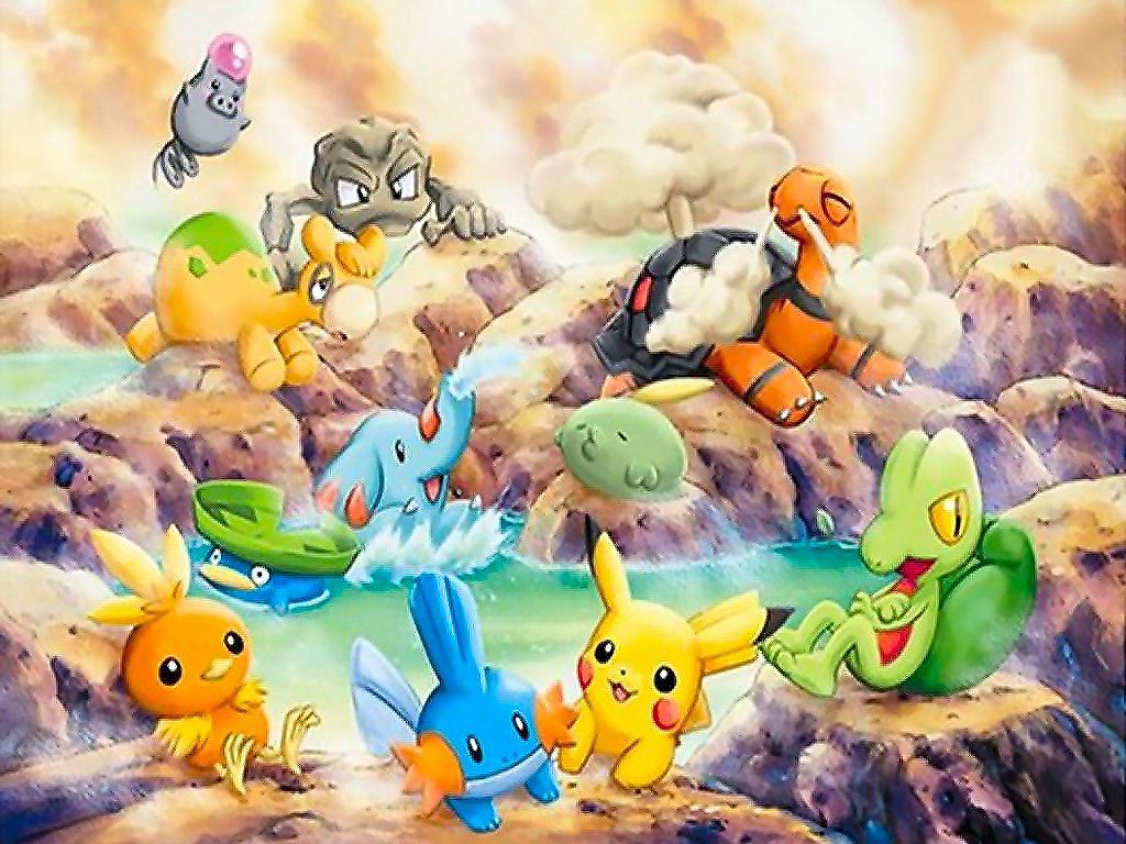 Pokemon Pc Wallpaper 1024x768