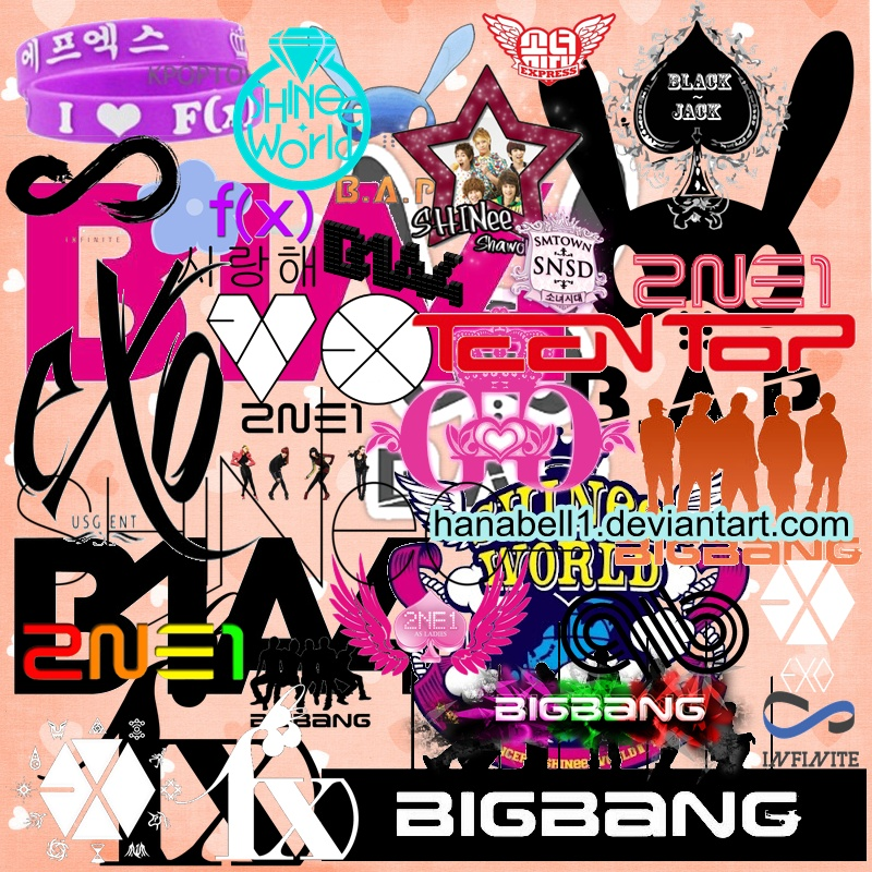 Free Download Go Back Gallery For Kpop Logo Wallpaper