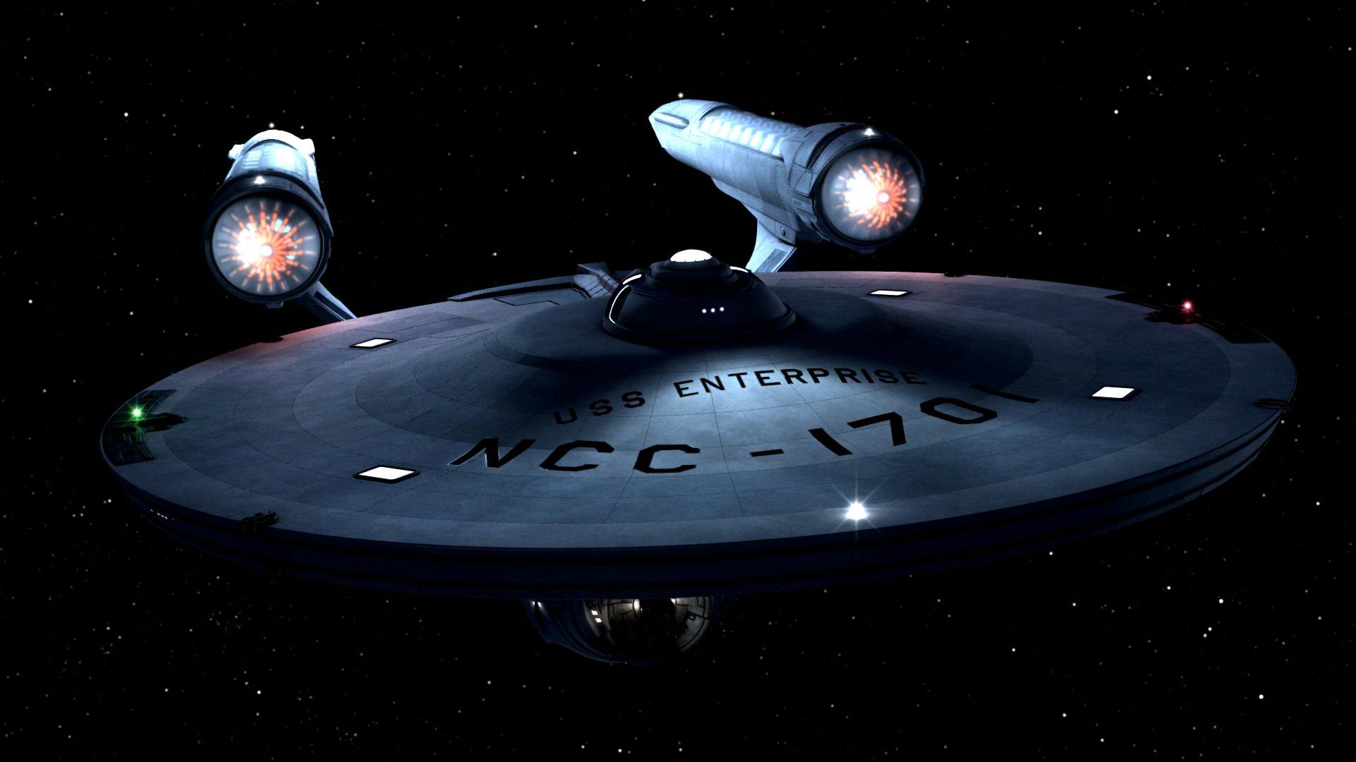 Star Trek Daily Pic   Daily Pic 1691 TOS Enterprise 1920x1080