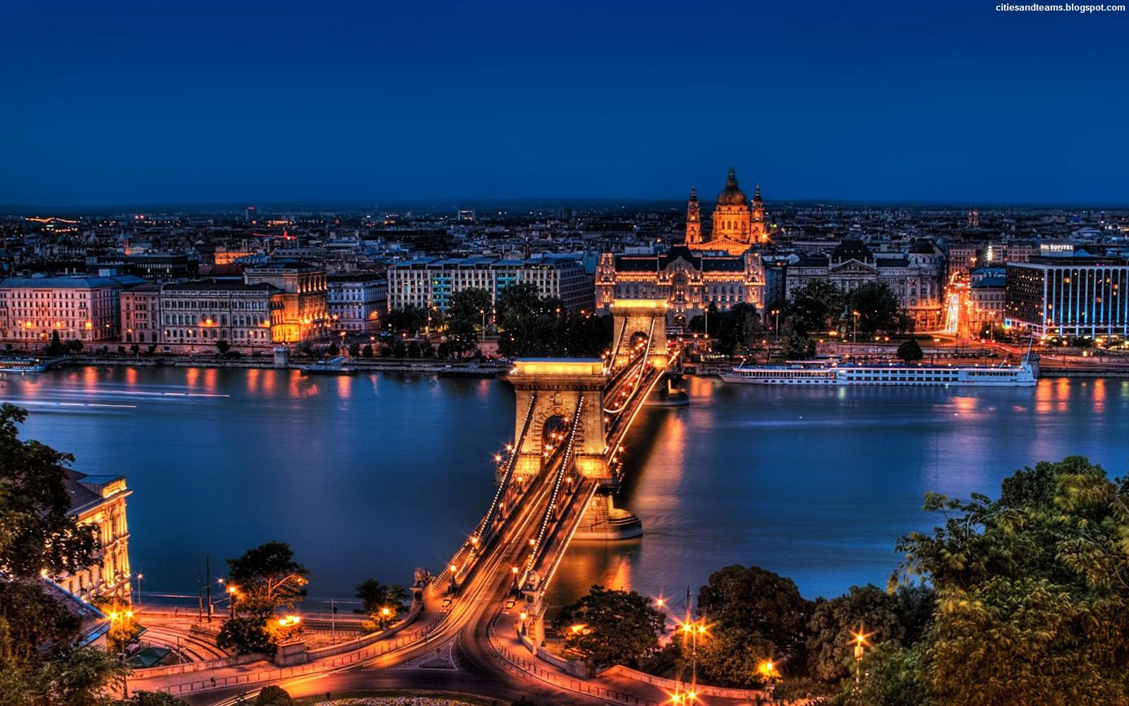 Capital City Hungary Hd Desktop Wallpaper Image Gallery and HD 1600x1000