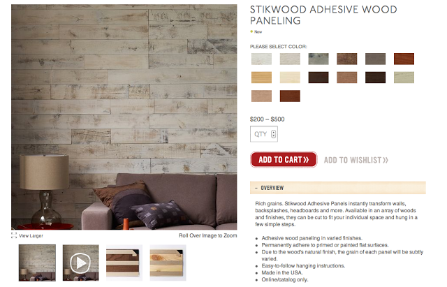 My Notting Hill Stikwood Peel Stick Real Wood Paneling 640x411