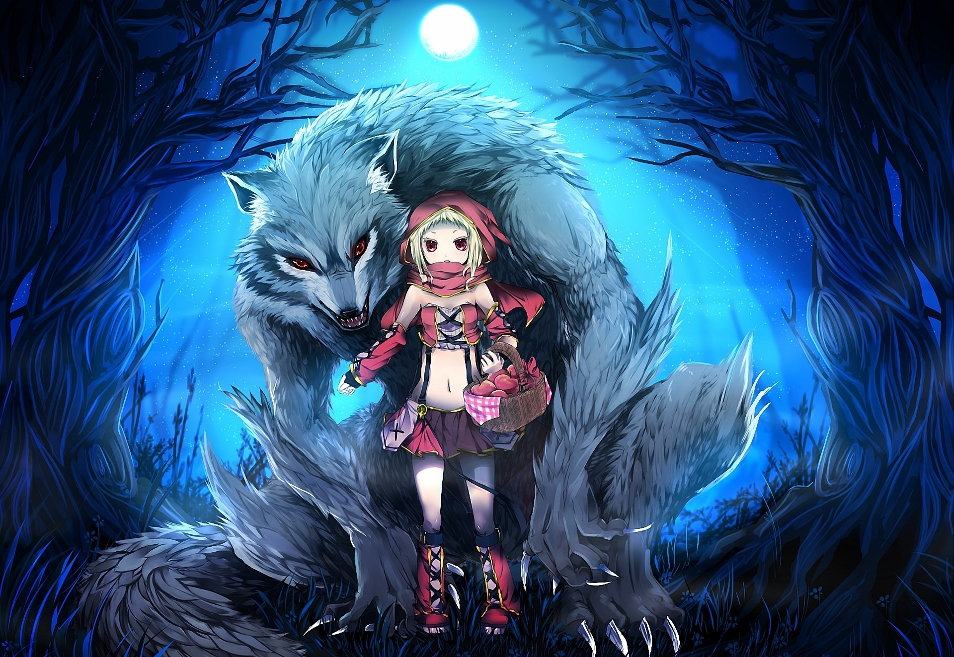 Skirts Wolf Wallpaper 1920x1323 Skirts Wolf Little Red Riding 1920x1323