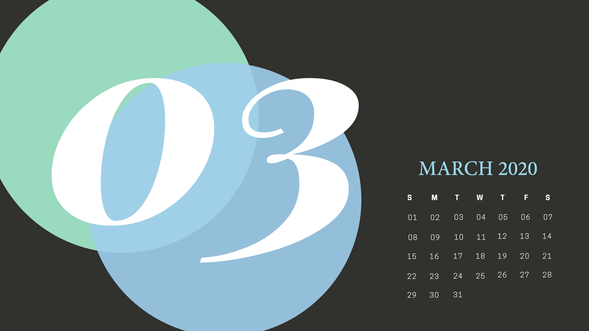 Cute March 2020 Calendar Wallpaper School calendar Calendar 1920x1080
