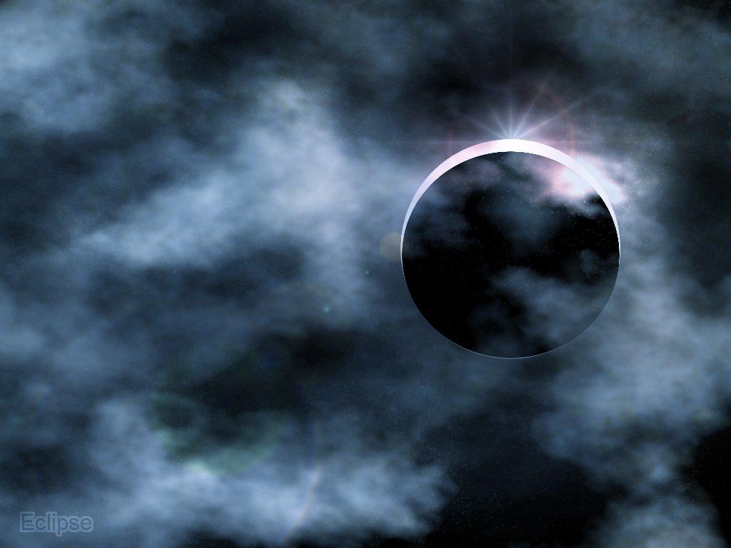 Create a Eclipse Wallpaper in GIMP GIMP Tutorials Blog 1024x768
