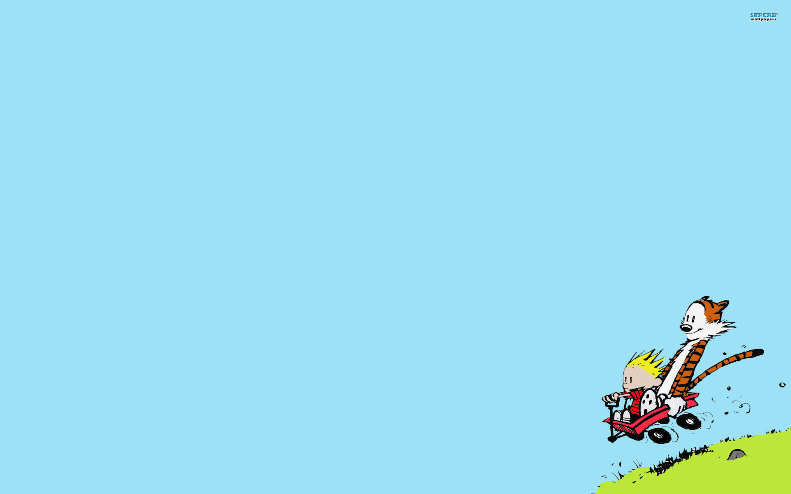 iphone 5 wallpaper calvin and hobbes   Favourite Pictures 2560x1600