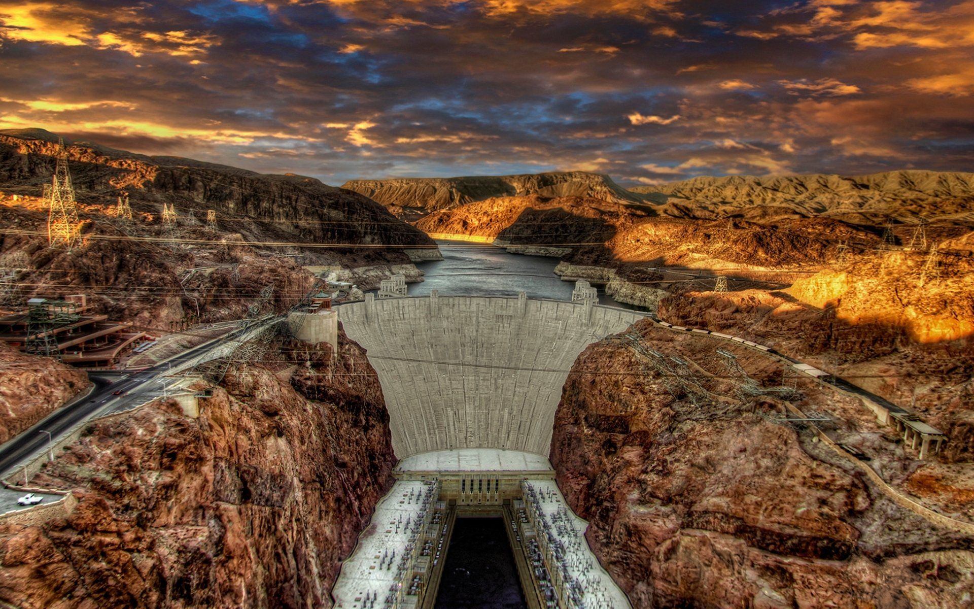Hoover Dam HD Wallpaper Background Image 1920x1200 ID553444 1920x1200