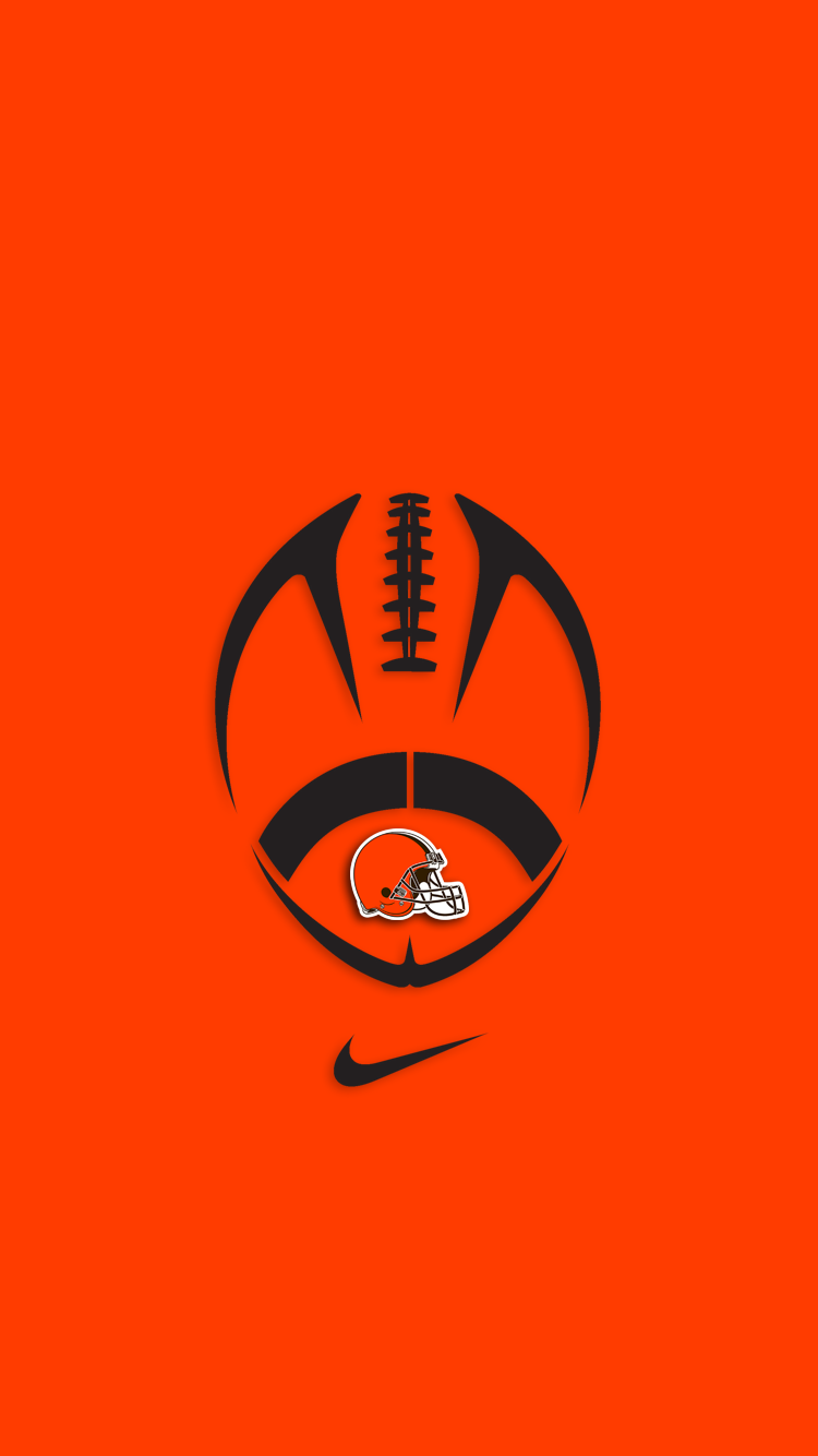 Download cleveland browns wallpapers for your mobile phone 750x1334
