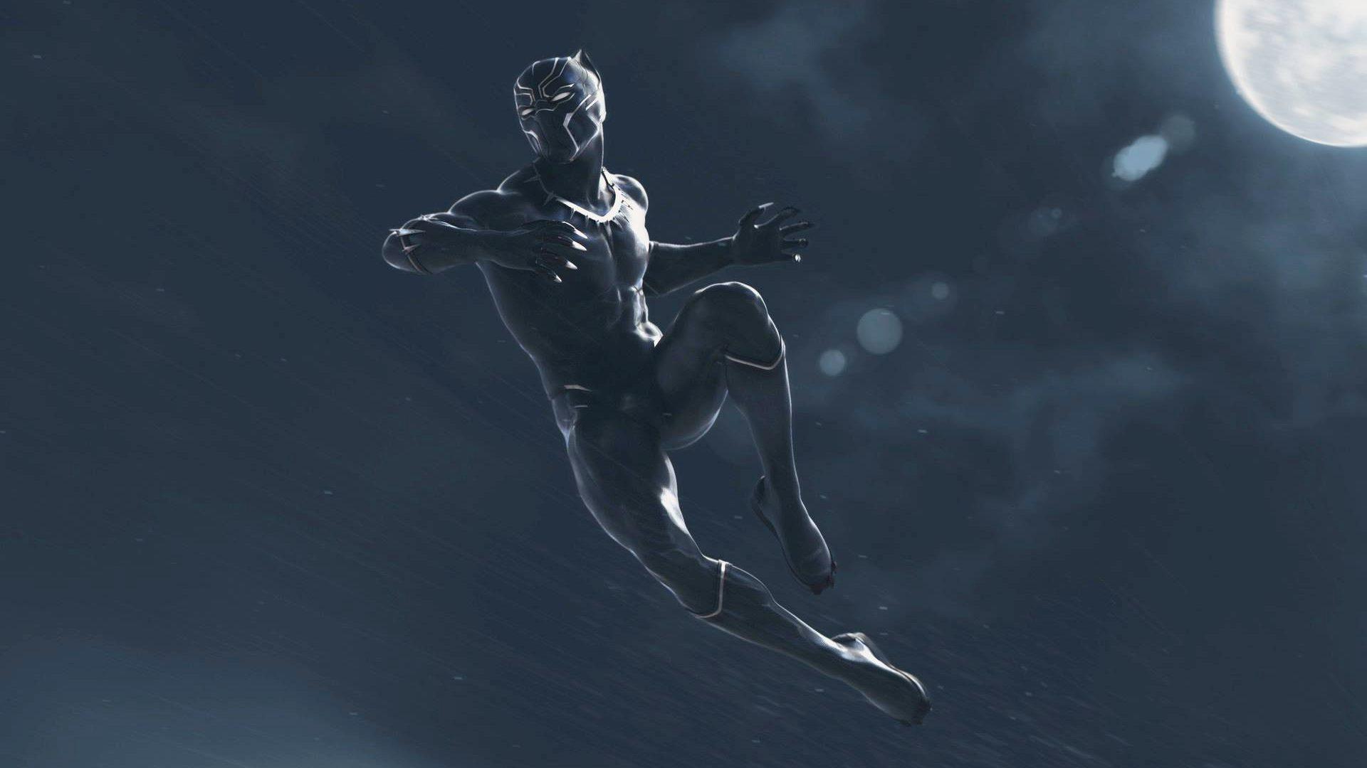 Superhero Black Panther Wallpapers 1920x1080
