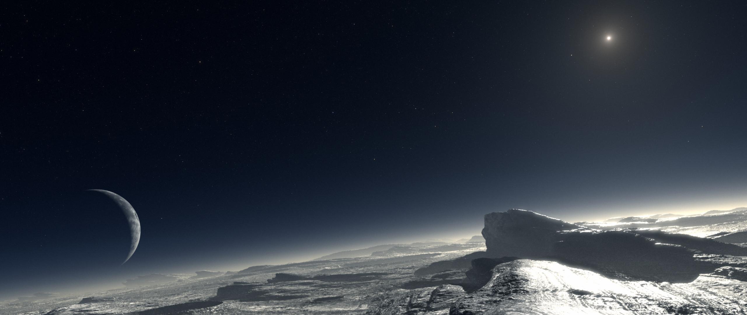 HD Pluto Wallpaper