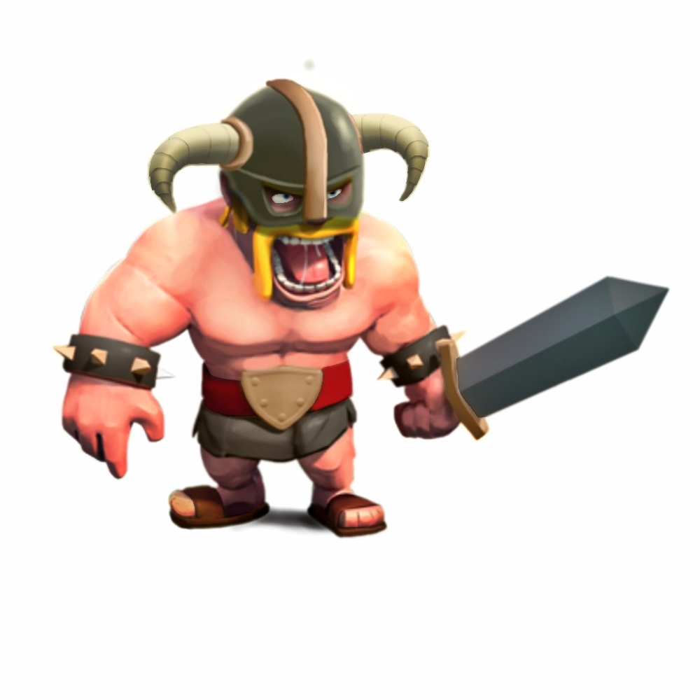 Clash of Clans Barbarian Wallpaper Clash of Clans Barbarian 1000x1000