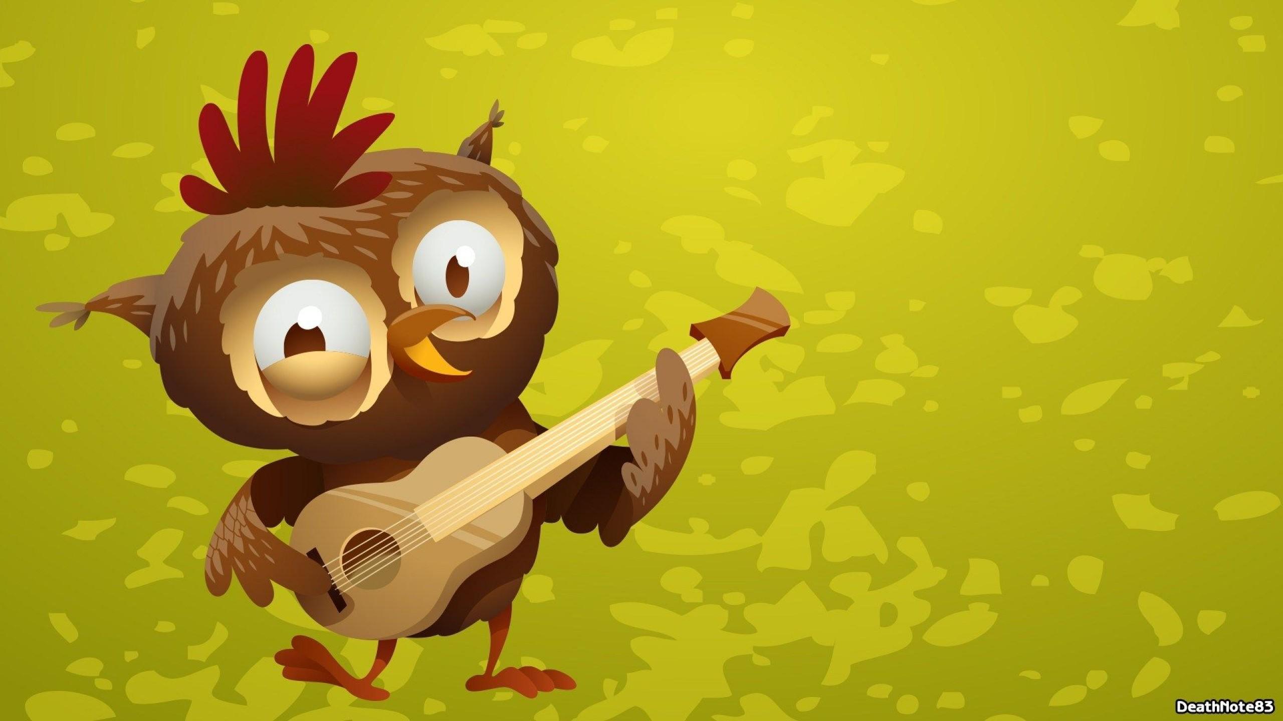 49+ Cartoon Owl Desktop Wallpaper on WallpaperSafari