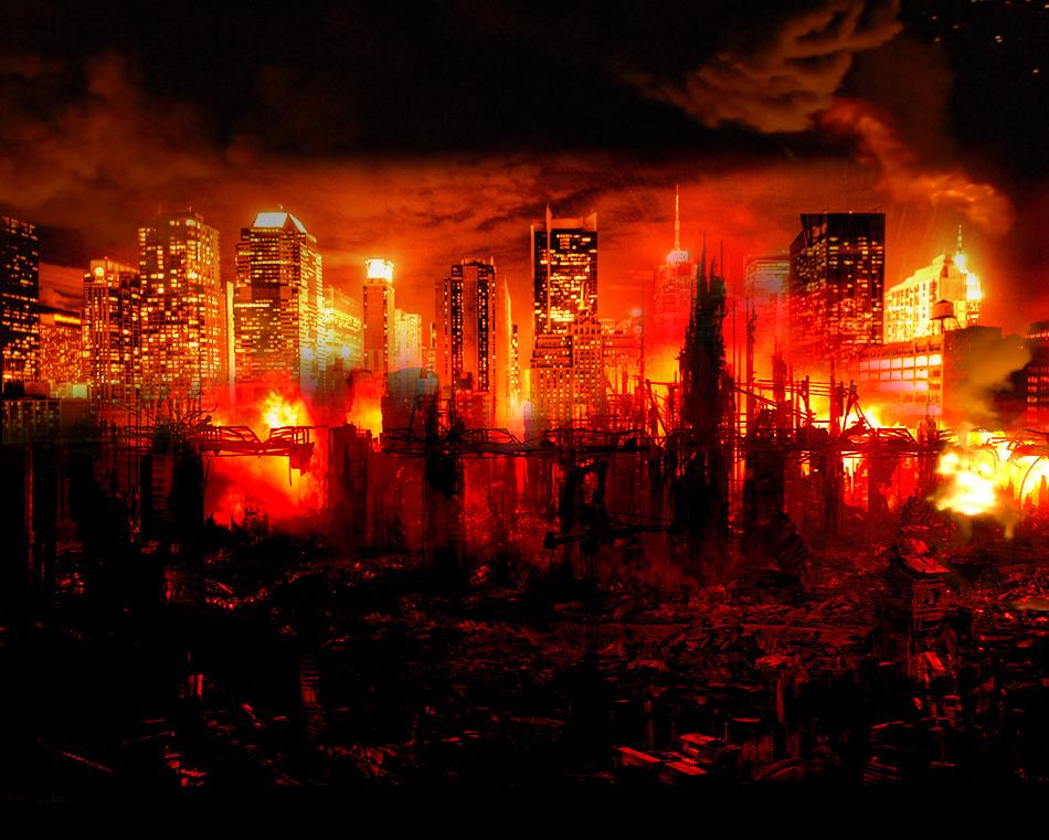 Destroyed City by smolik666 950x761