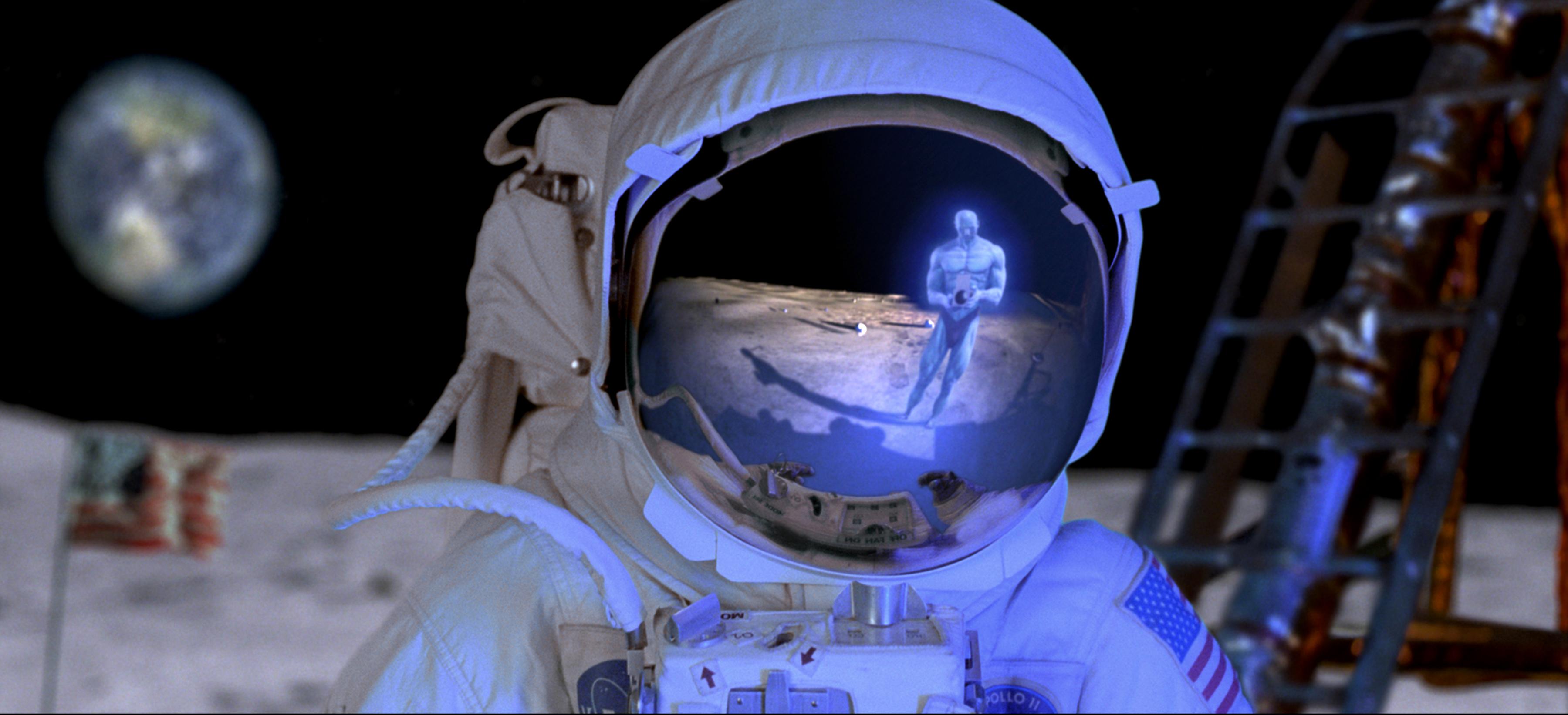 Watchmen movies moon astronauts dr manhattan desktop  X  hd Wallpaper 3600x1643