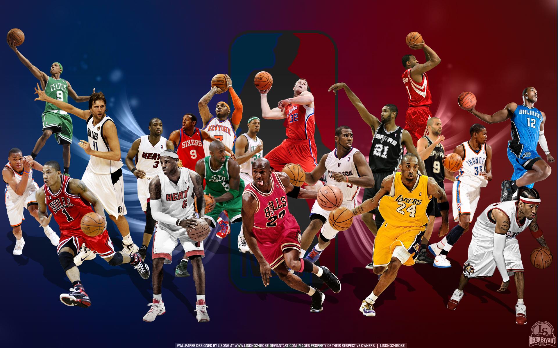 NBA Basketball HD Wallpapers - WallpaperSafari