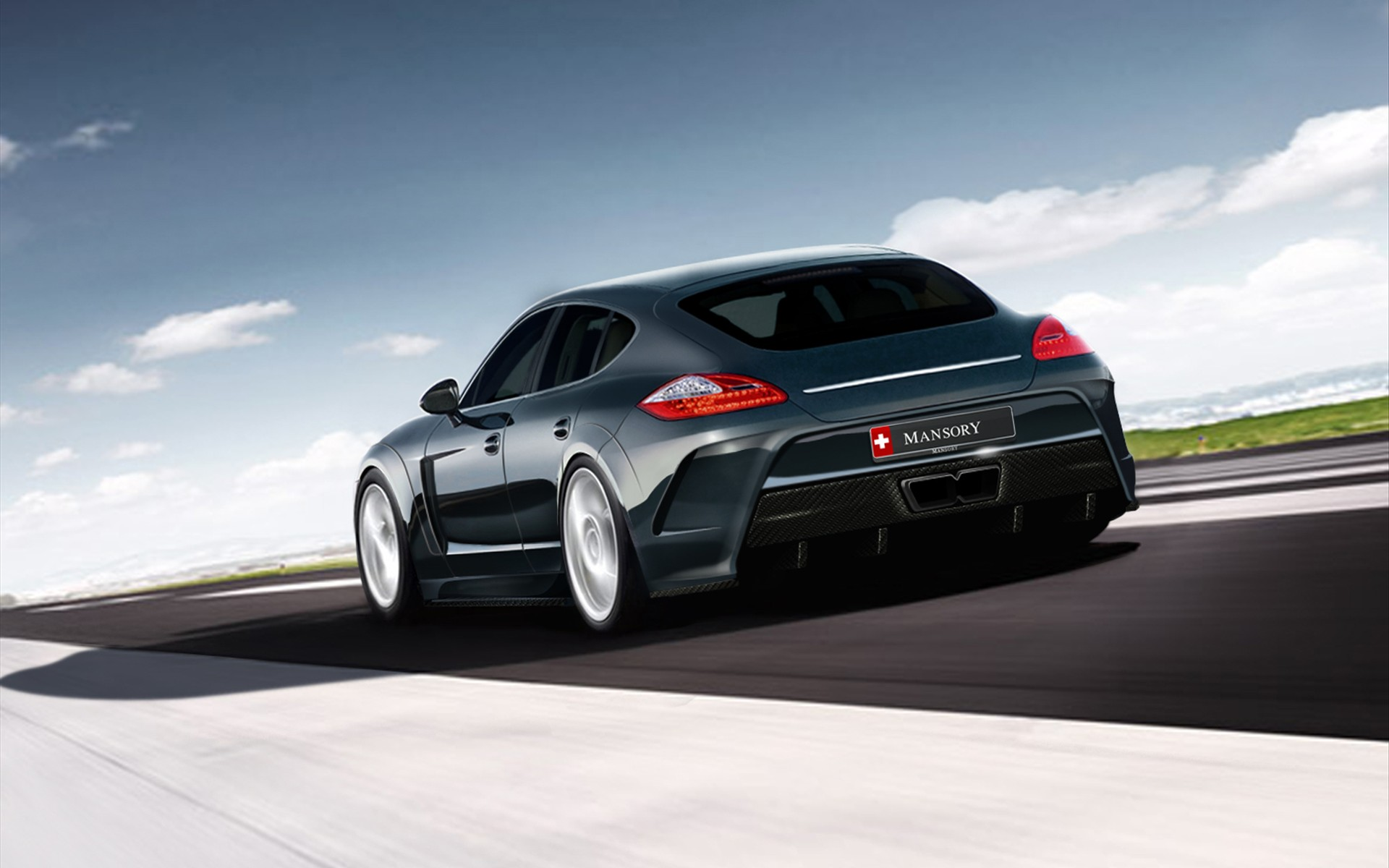 Mansory Porsche Panamera 3 Wallpaper HD Car Wallpapers 1920x1200