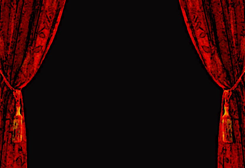 wallpapers red curtain background - photo #36