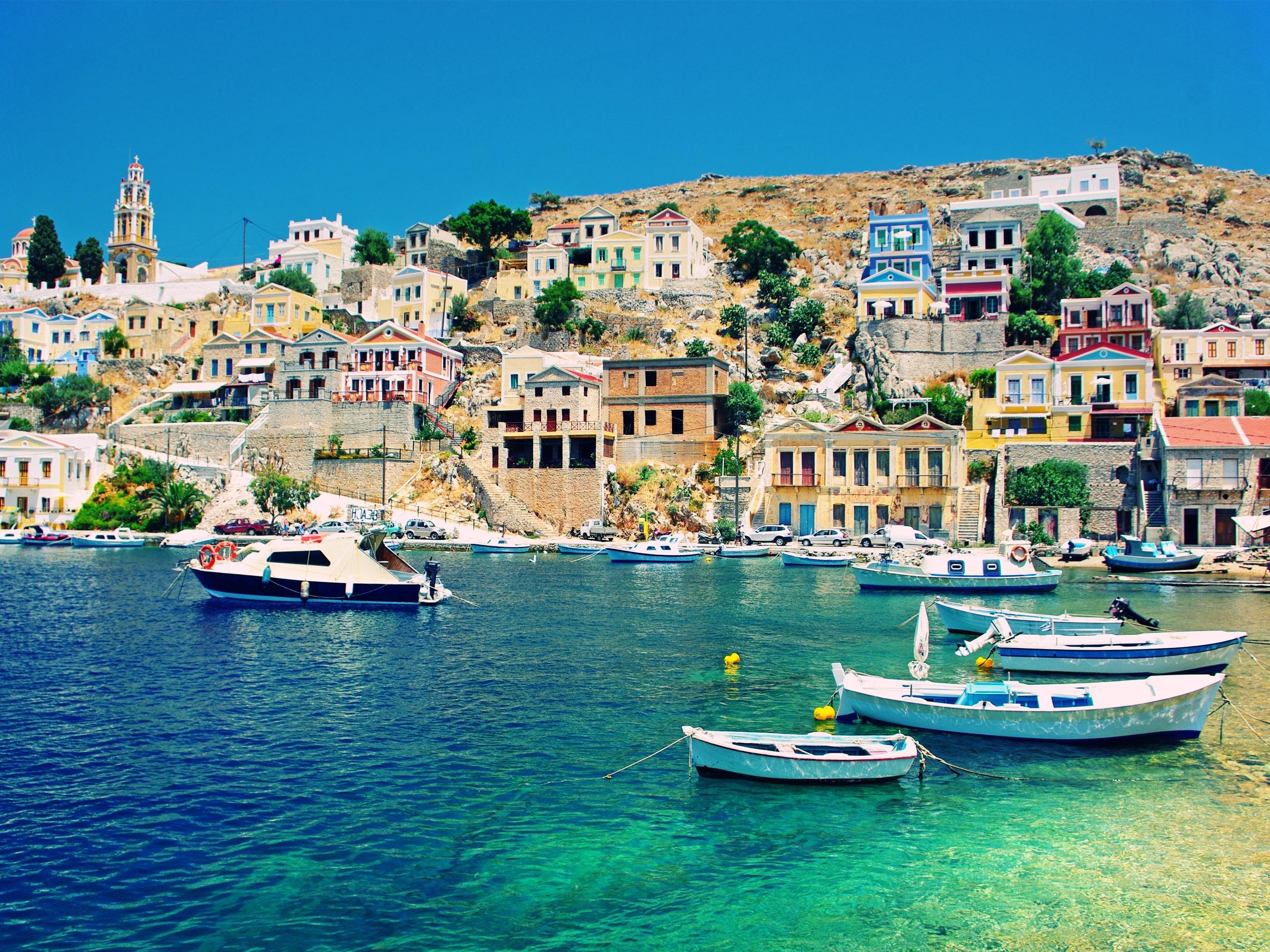 greece wallpaper desktop wallpapersafari
