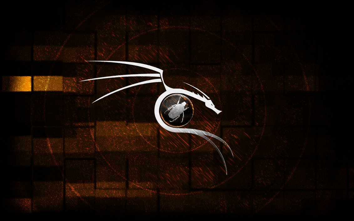 this case a dragon BackTrack dragon wrapped around Exploit DB Bug 1131x707