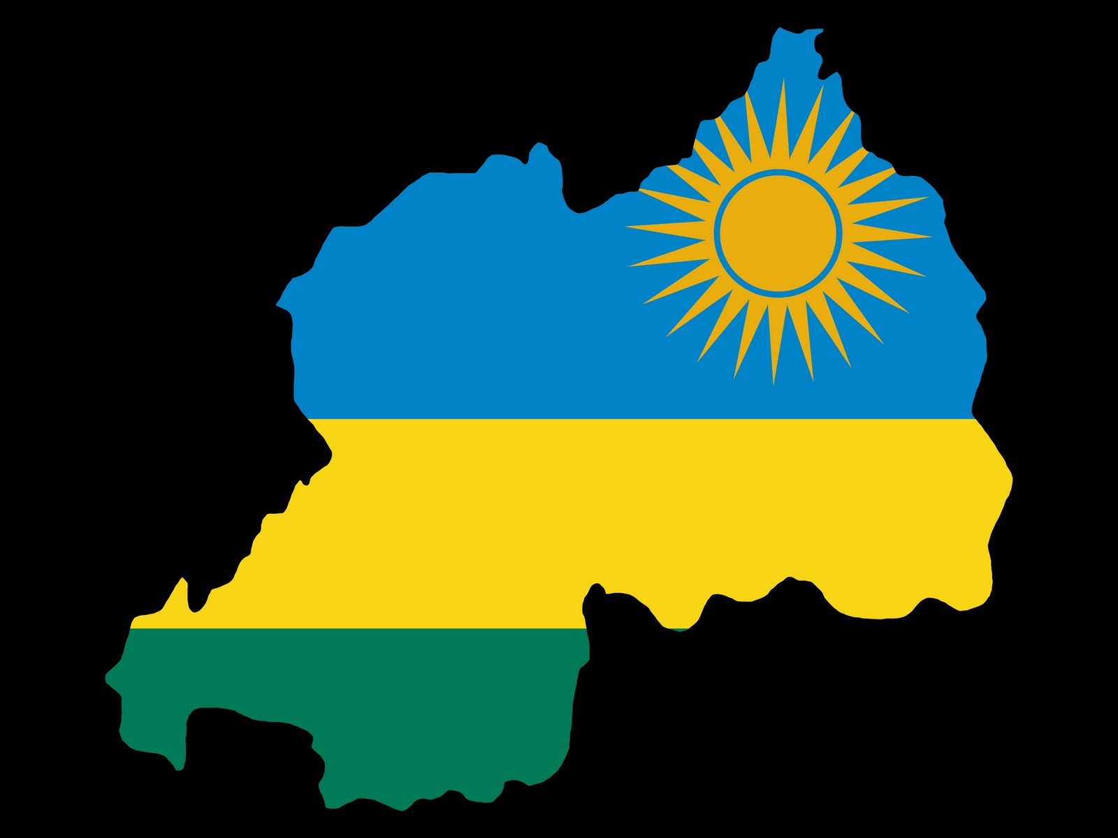 Imagehub Rwanda Flag HD Download 1600x1200