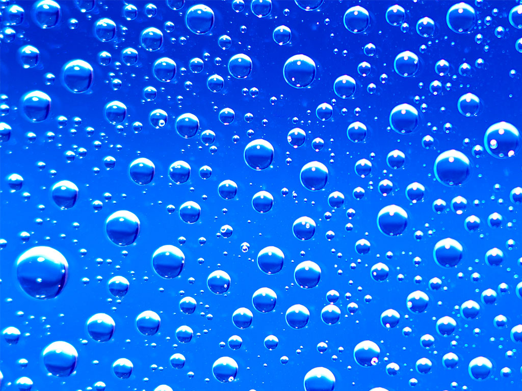 blue bubbles wallpaper