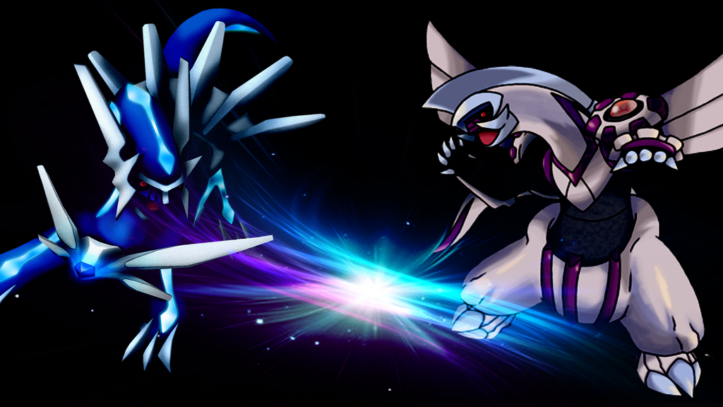 Palkia and Dialga Wallpaper - WallpaperSafari