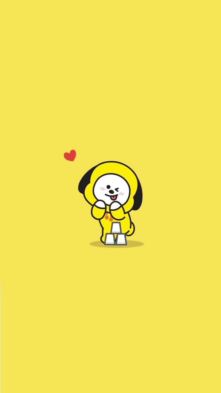 BTS BT21 Wallpaper CHIMMY pls make sure to follow me 736x1308