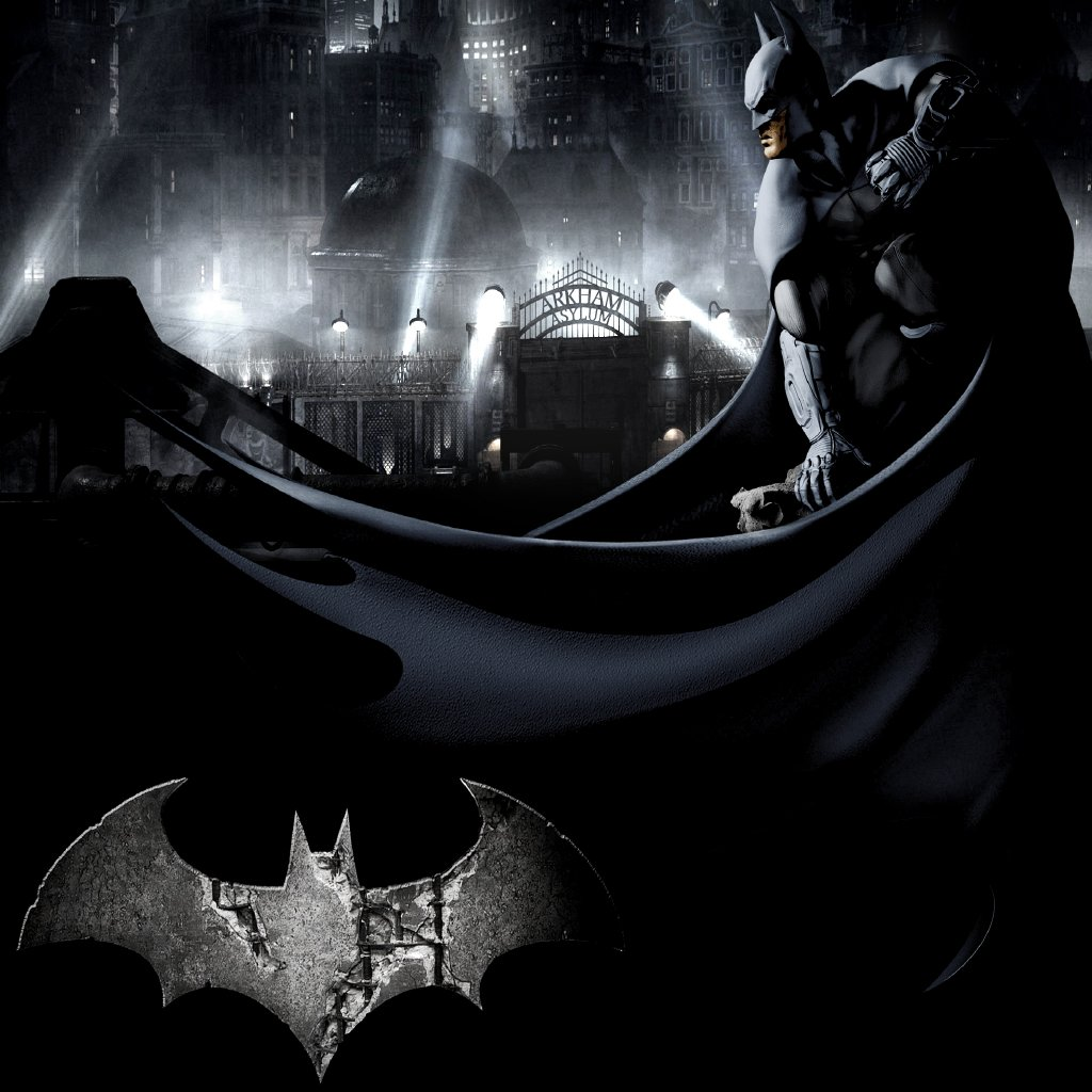 Batman Arkham City wallpapers Tablet Batman Arkham City backgrounds 1024x1024