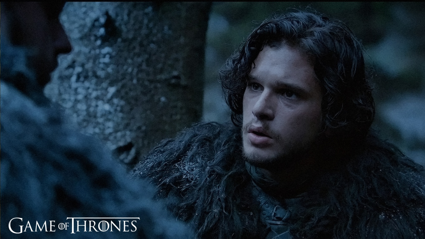 1366x768 Jon Snow Game Of Thrones desktop PC and Mac wallpaper 1366x768