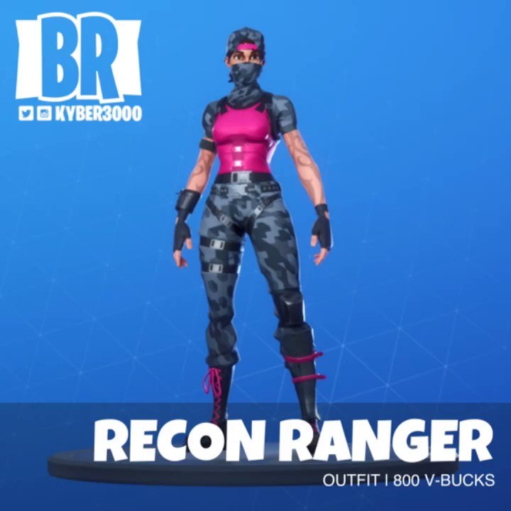 Fortnite Recon Ranger posted by Ethan Cunningham 720x720