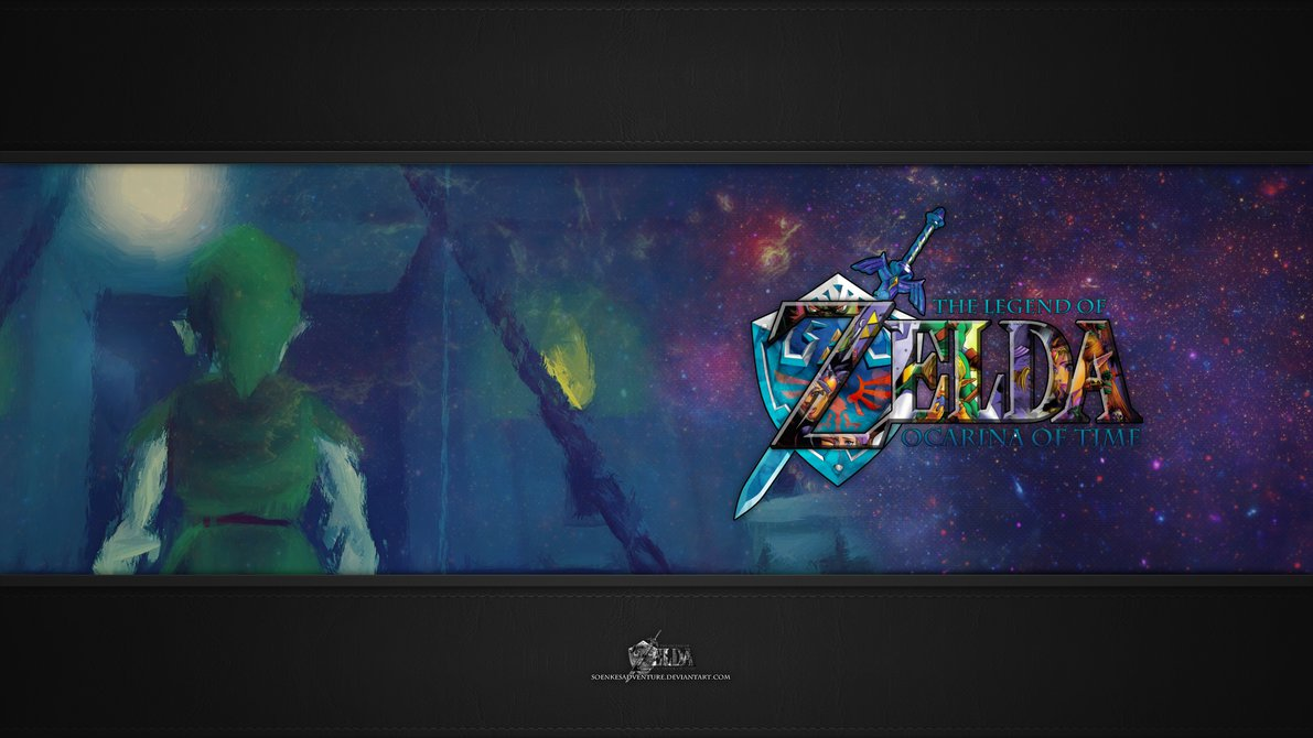 Zelda   Ocarina of Time Wallpaper Full HD 1080p by SoenkesAdventure on 1191x670