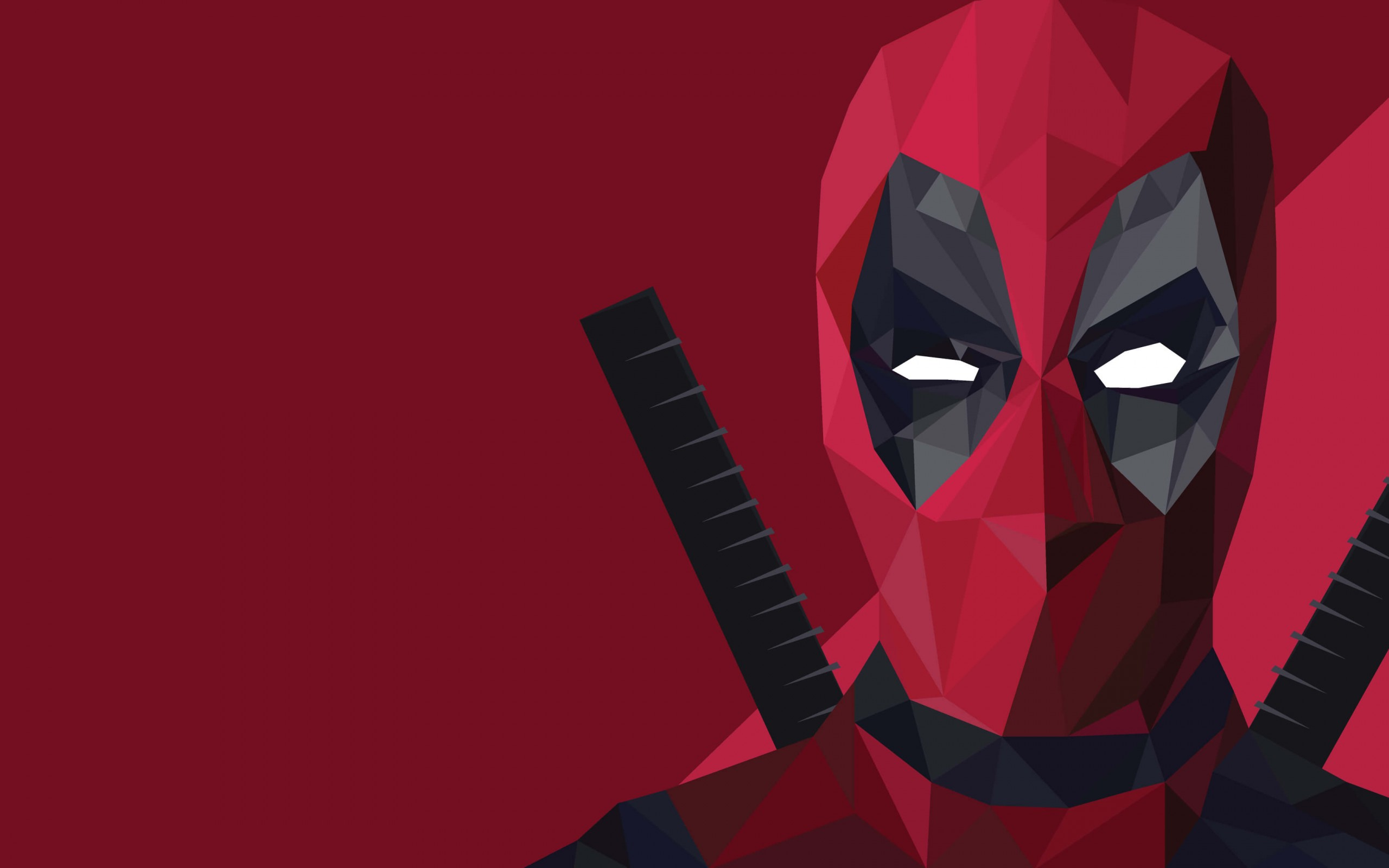 Deadpool Vector wallpapers 2560x1600