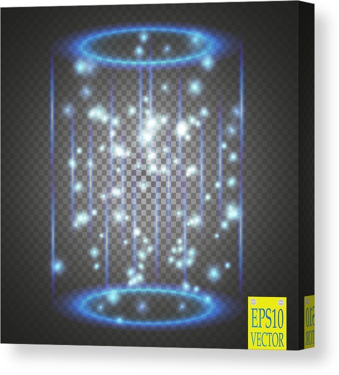 Magic Fantasy Portal Futuristic Teleport Light Effect Blue 678x750