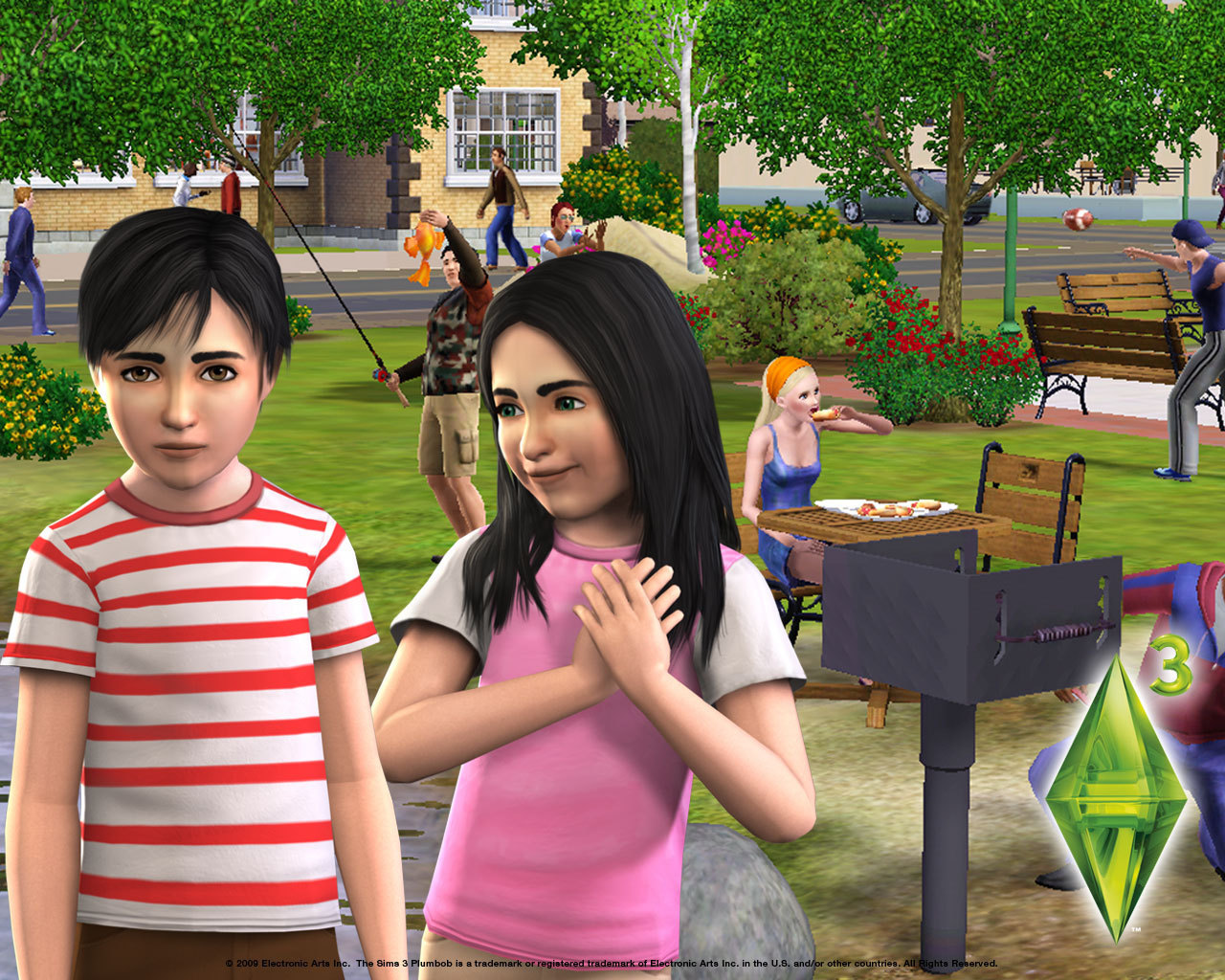 The Sims 3   The Sims 3 Wallpaper 6605352 1280x1024