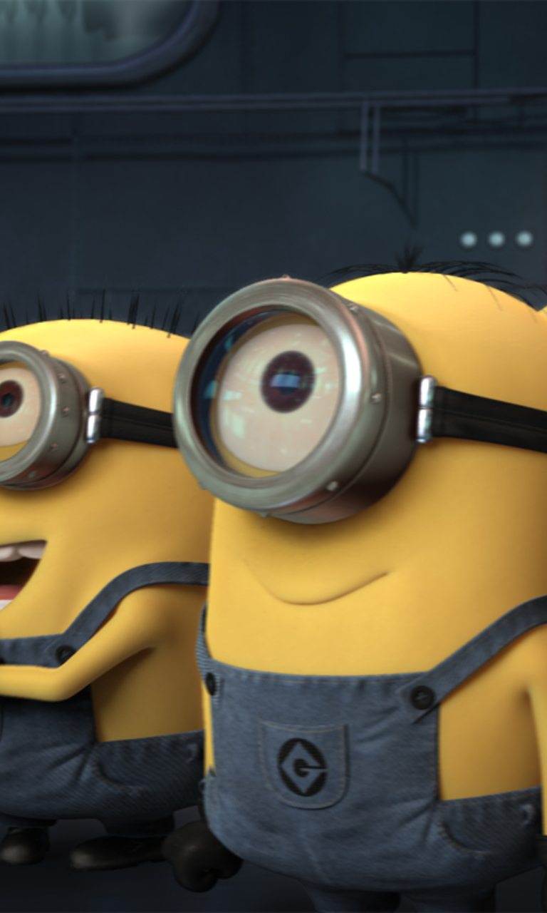 Happy Minions Wallpaper for HTC Windows Phone 8S 768x1280