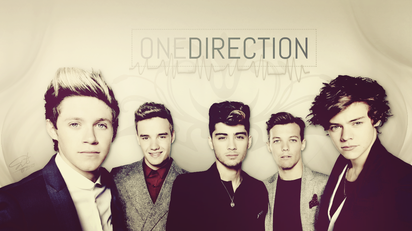 One Direction Wallpapers HD Full HD Pictures 1366x768