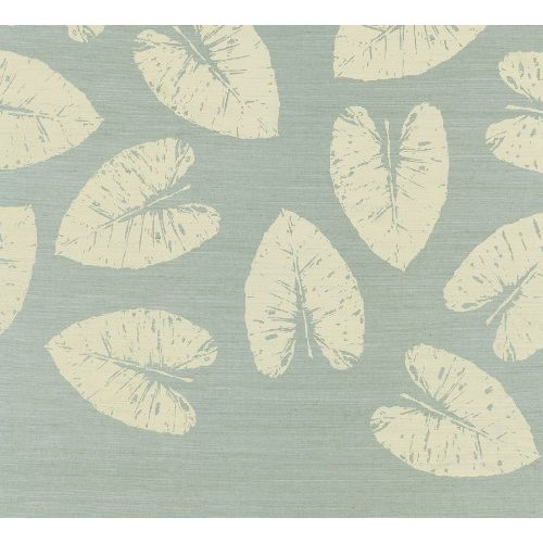 44508 36 Inch by 288 Inch Banana Leaf Leaf Print Wallpaper Sea Mist 500x500