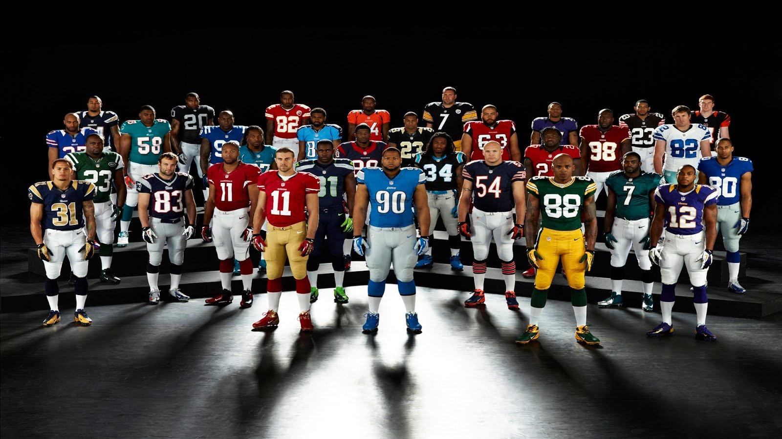 45] NFL Football Players Wallpaper on WallpaperSafari 1600x900