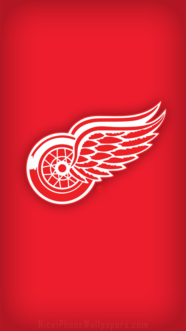 Detroit Red Wings wallpaper for iPhone 5 640x1136